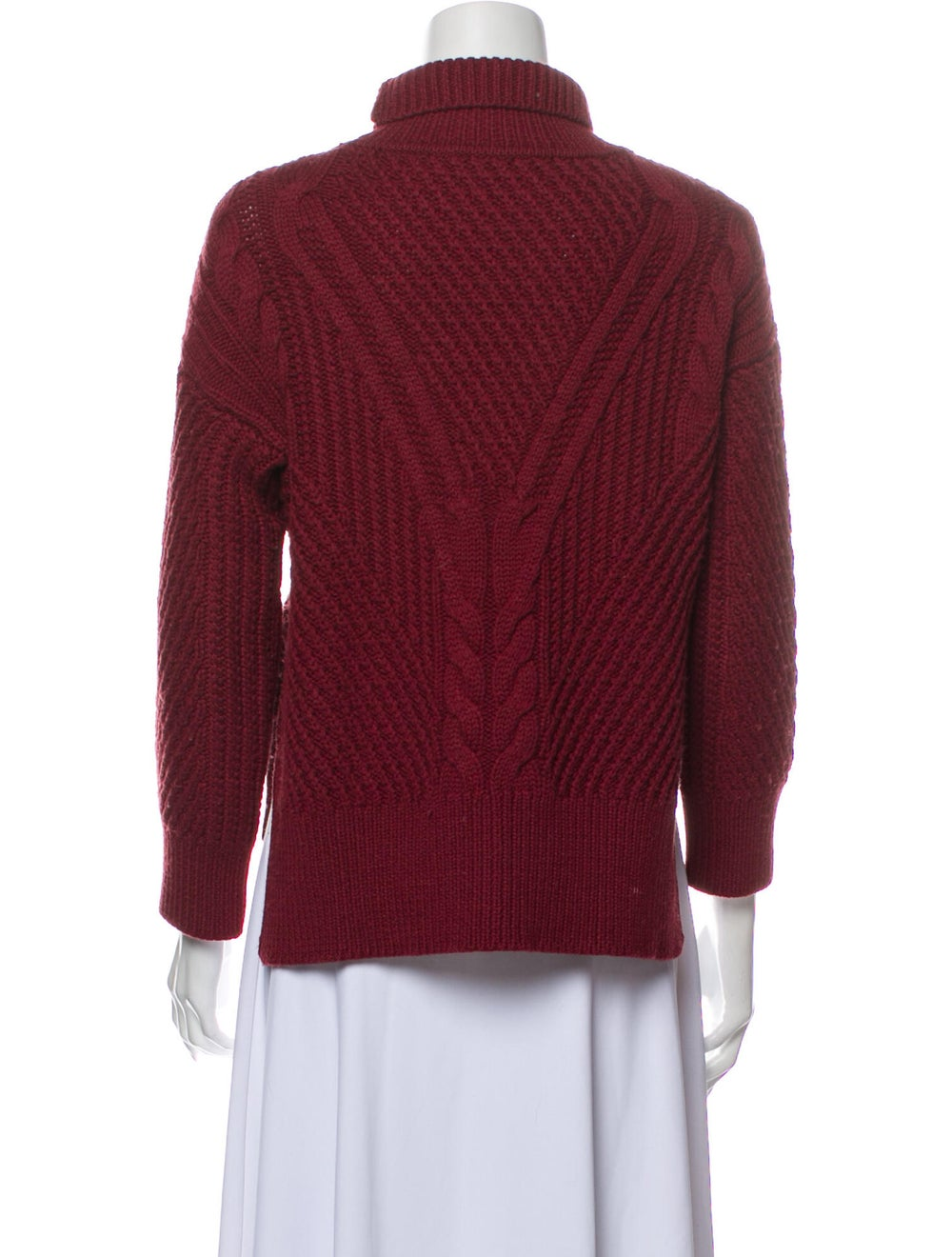 Duffy Wool Turtleneck Sweater Wool - image 3