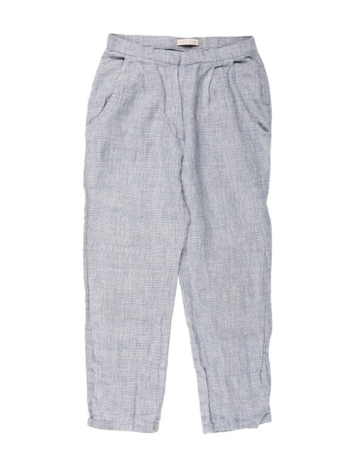 Jesse Kamm Straight Leg Pants Blue