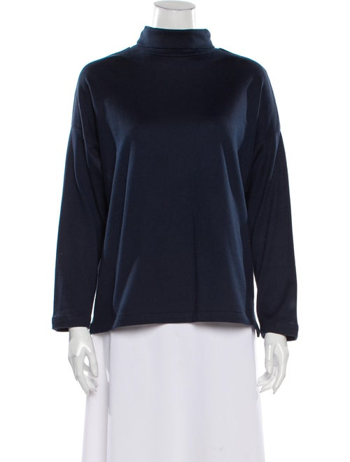 Jesse Kamm Turtleneck Sweater Blue