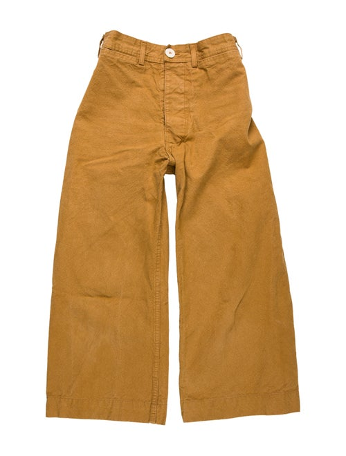 Jesse Kamm Wide Leg Pants Brown