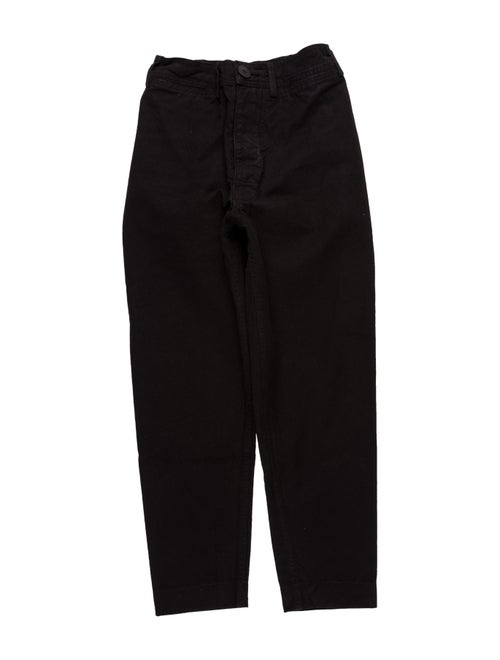 Jesse Kamm Straight Leg Pants Black