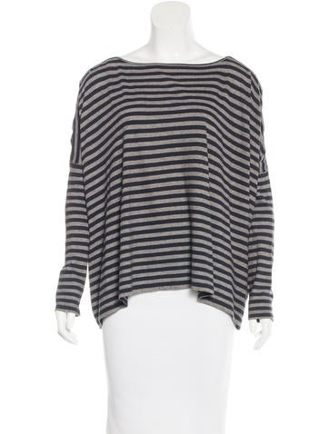 Demylee Striped Dolman Top None