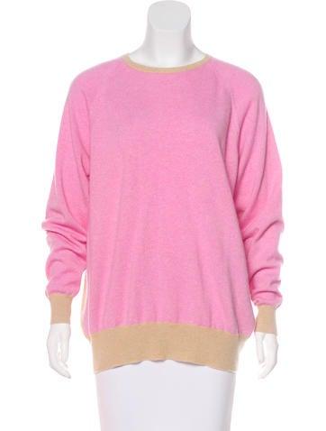Demylee Cashmere Colorblock Sweater None