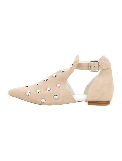 EB by Miista Studded Accents Flats