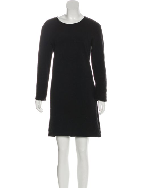 Eckhaus Latta Crew Neck Mini Dress Black