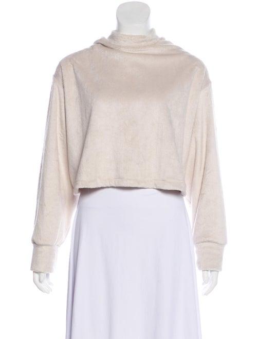 Eckhaus Latta Mock Neck Sweater White
