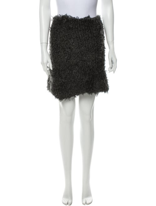 Eckhaus Latta Mini Skirt Grey