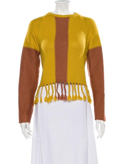 Eckhaus Latta Merino Wool Printed Sweater Wool