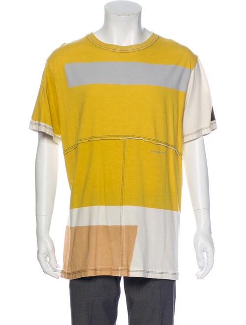 Eckhaus Latta Short Sleeve T-Shirt yellow