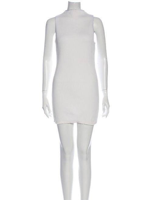 Eckhaus Latta Mock Neck Sleeveless Tunic