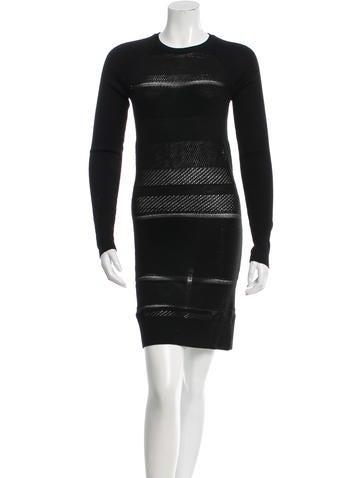 Edun Bodycon Sweater Dress None