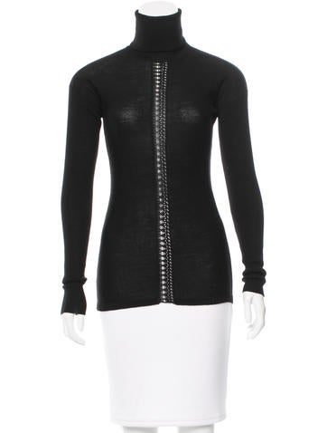 Edun Long Sleeve Turtleneck Top None