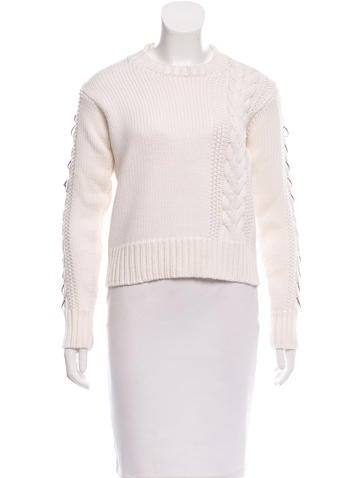 Edun Embellished Wool Sweater None