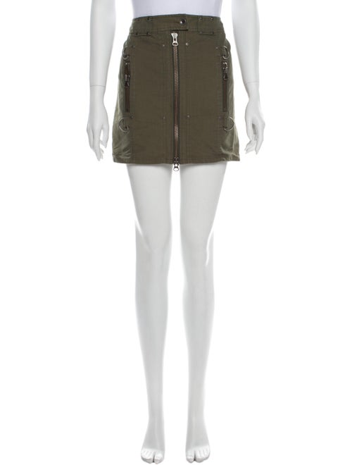 Edun Mini Skirt Green