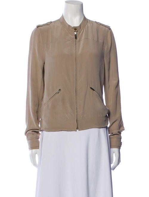 Edun Silk Bomber Jacket - image 1