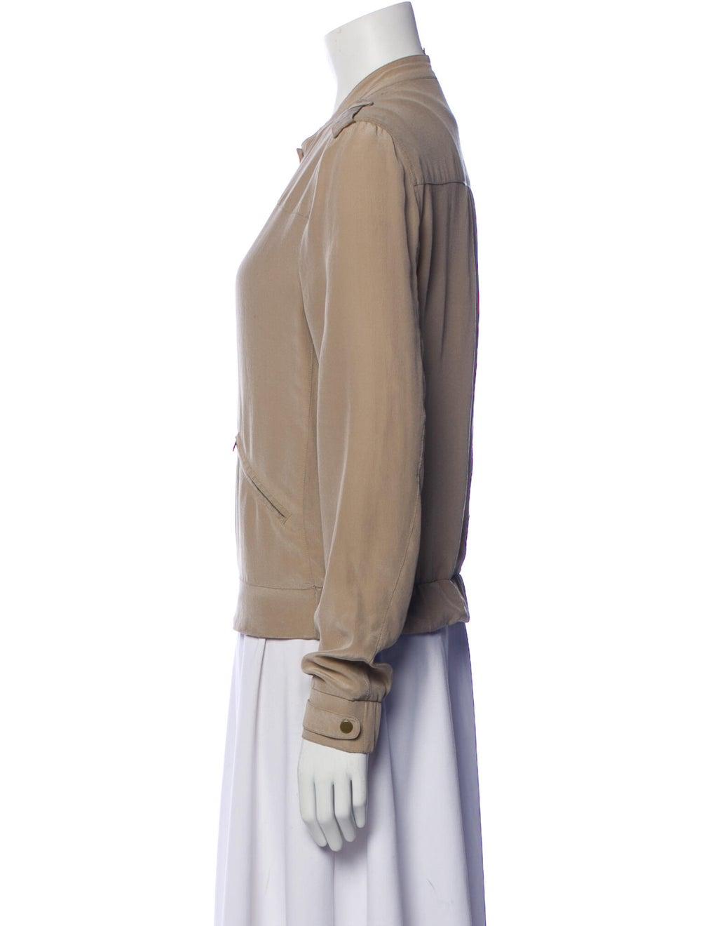 Edun Silk Bomber Jacket - image 2