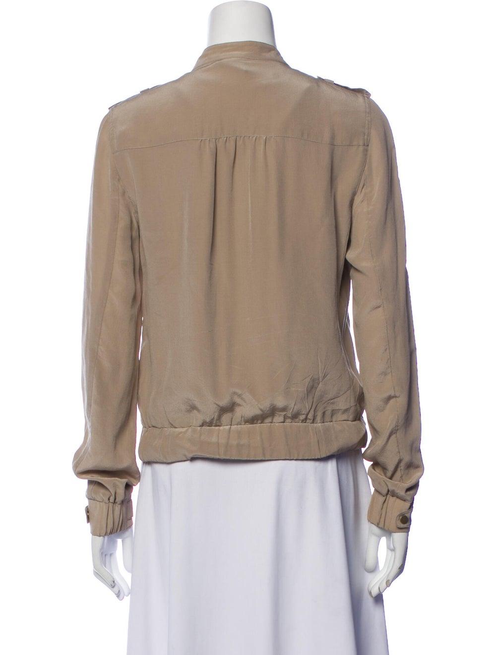 Edun Silk Bomber Jacket - image 3
