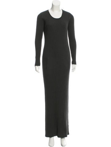 Wes Gordon Ribbed Sweater Dress None