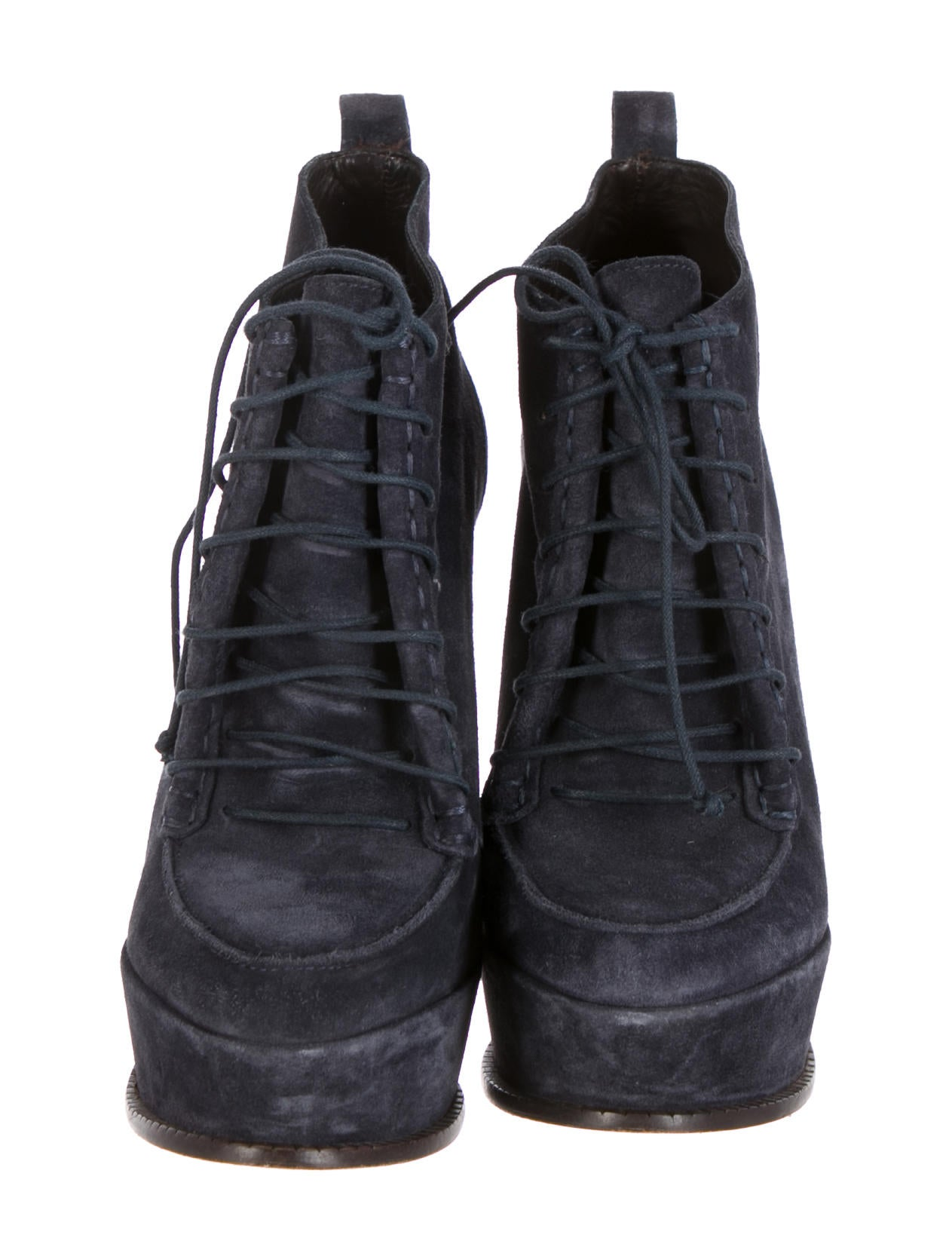 elizabeth and suede lace up ankle boots shoes