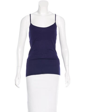 Elizabeth and James Rib Knit Racerback Camisole None
