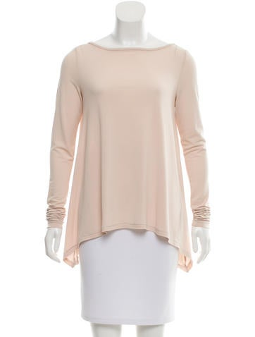 Elizabeth and James Long Sleeve Crew Neck Top