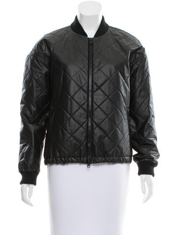 Elizabeth and James Quilted Bomber Jacket