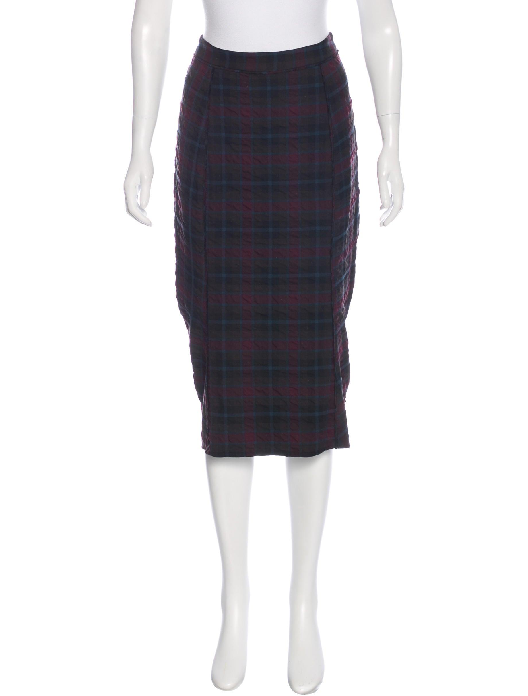 elizabeth and plaid midi skirt clothing wei37394