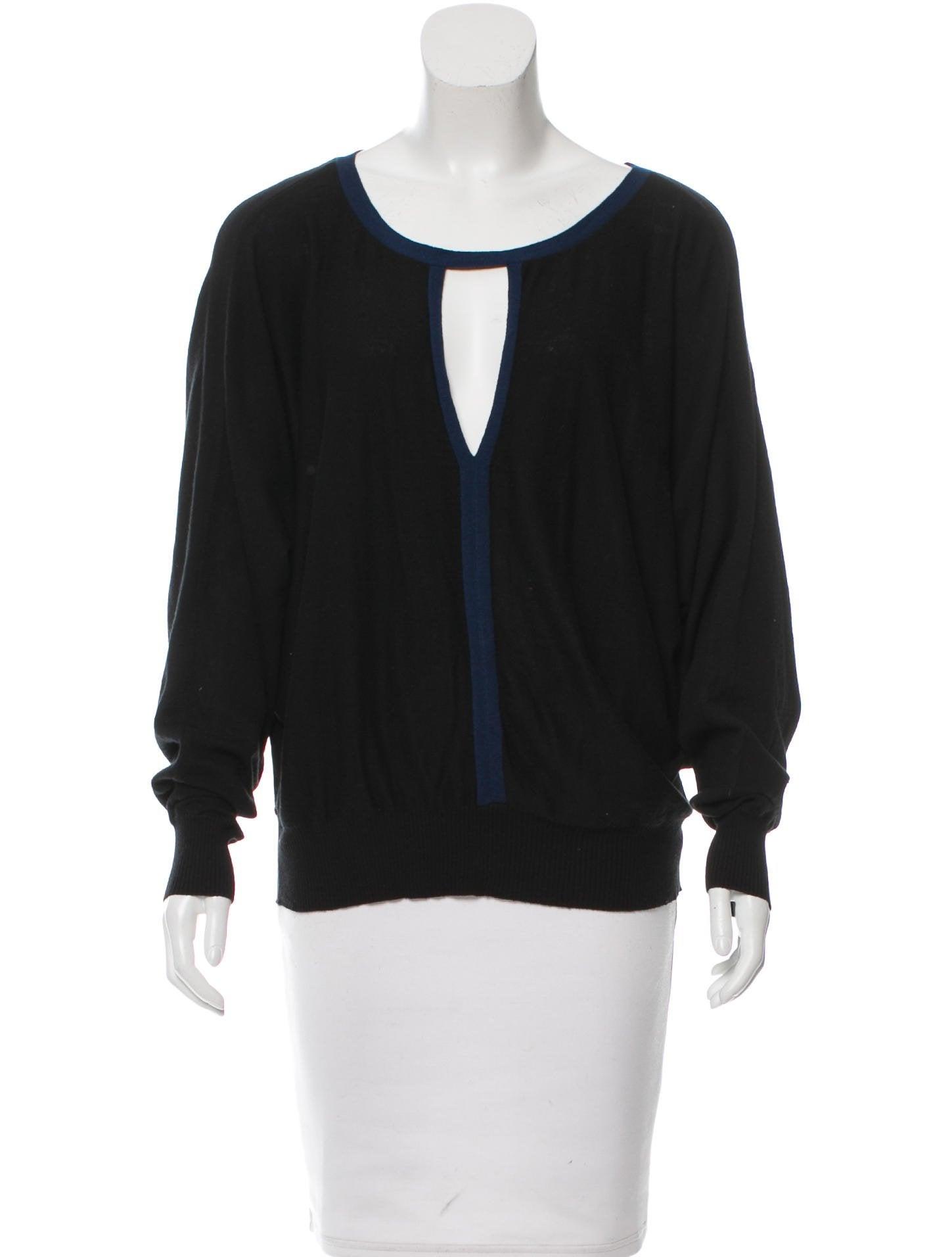 Knitting Pattern For Dolman Sleeve Sweater : Elizabeth and James Knit Dolman Sleeve Sweater - Clothing ...
