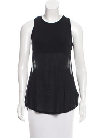Elizabeth and James Cutout Sleeveless Top None