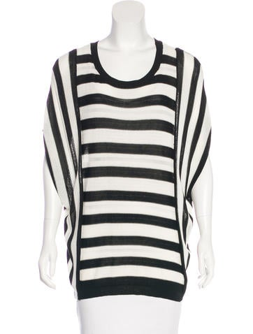 Elizabeth and James Striped Sleevless Top None