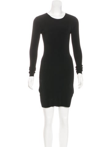 Elizabeth and James Rib Knit Bodycon Dress w/ Tags None