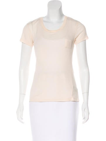 Elizabeth and James Short Sleeve Knit Top None