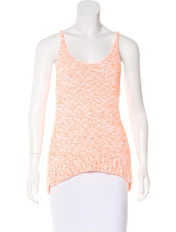 Elizabeth and James Sleeveless Knit Top None