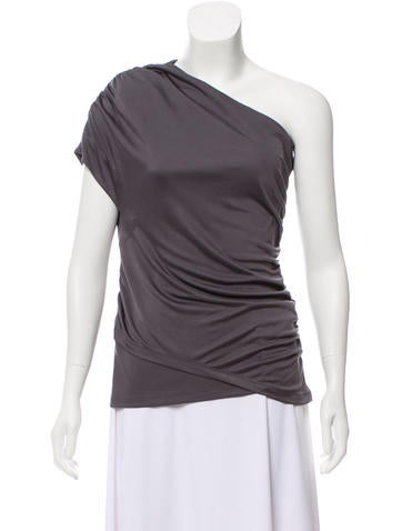 Elizabeth and James Strapless Ruched Top w/ Tags None