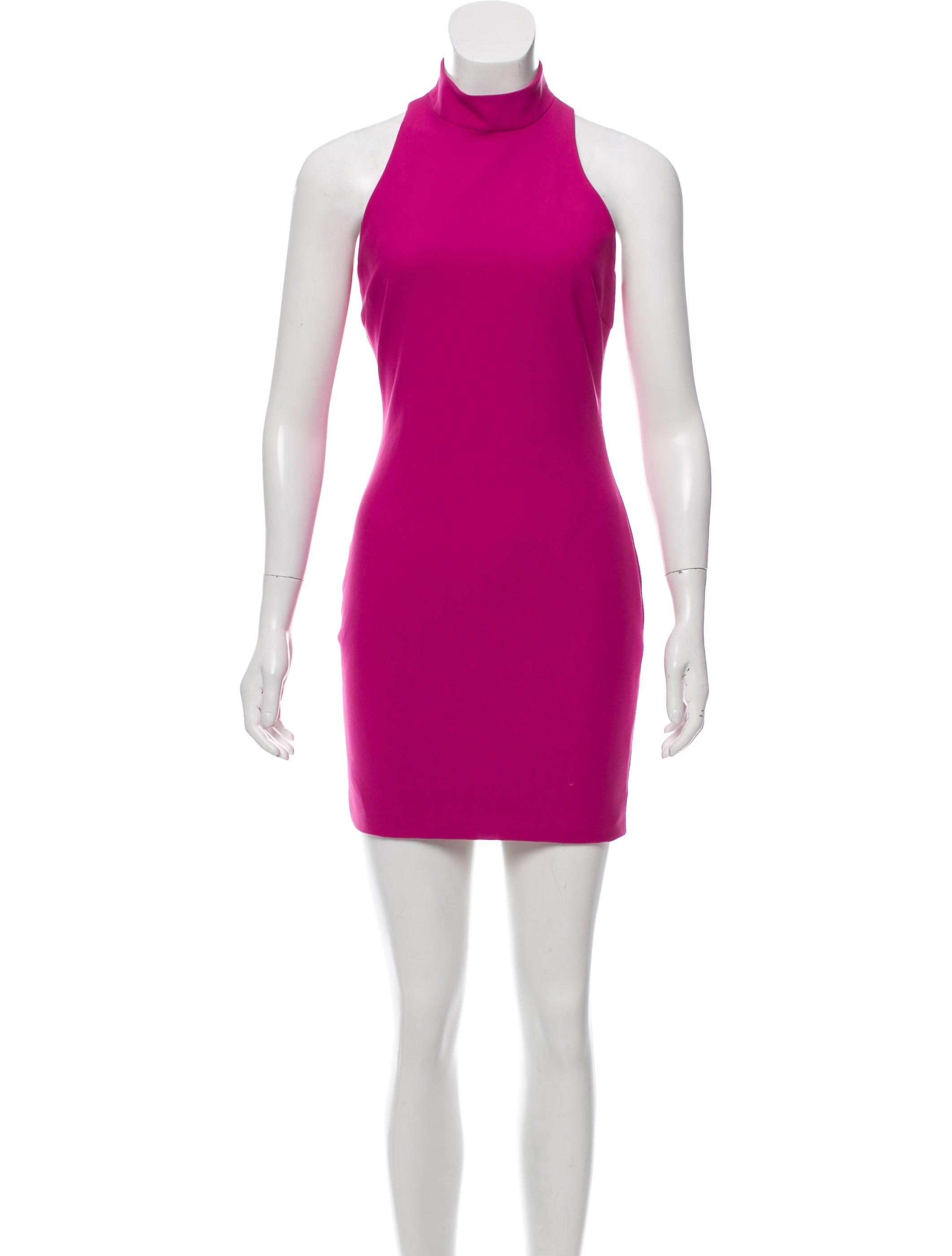 Halter Neck Mini Dress W Tags