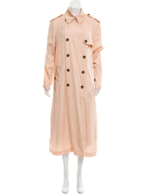 Elizabeth and James Trench Coat Pink