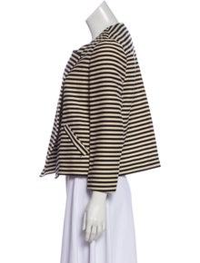 Elizabeth and James Striped Evening Jacket