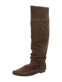 Elizabeth and James Suede Riding Boots