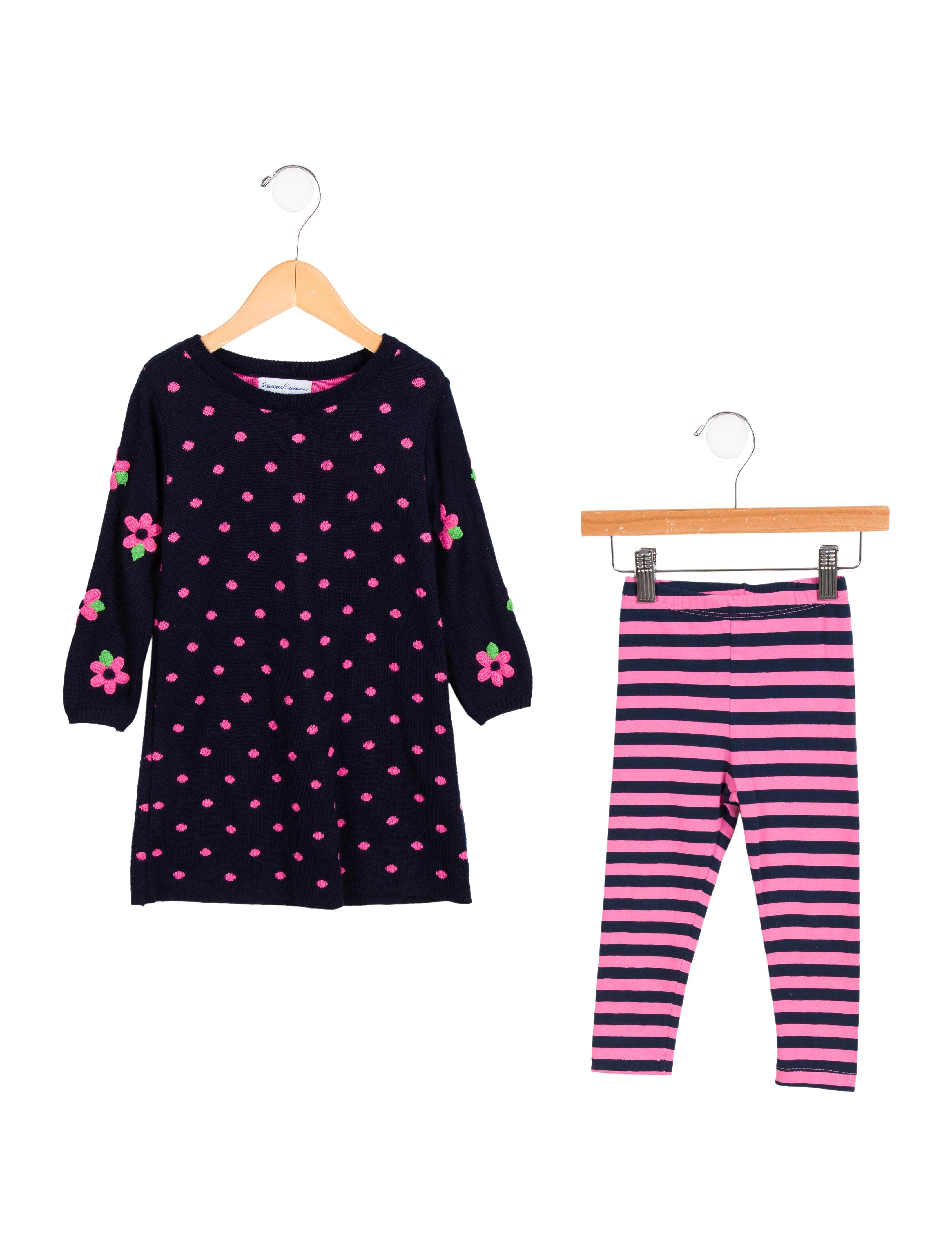 c9b035aba0 Florence Eiseman Girls  Sweater Dress Set - Girls - WEISE20149