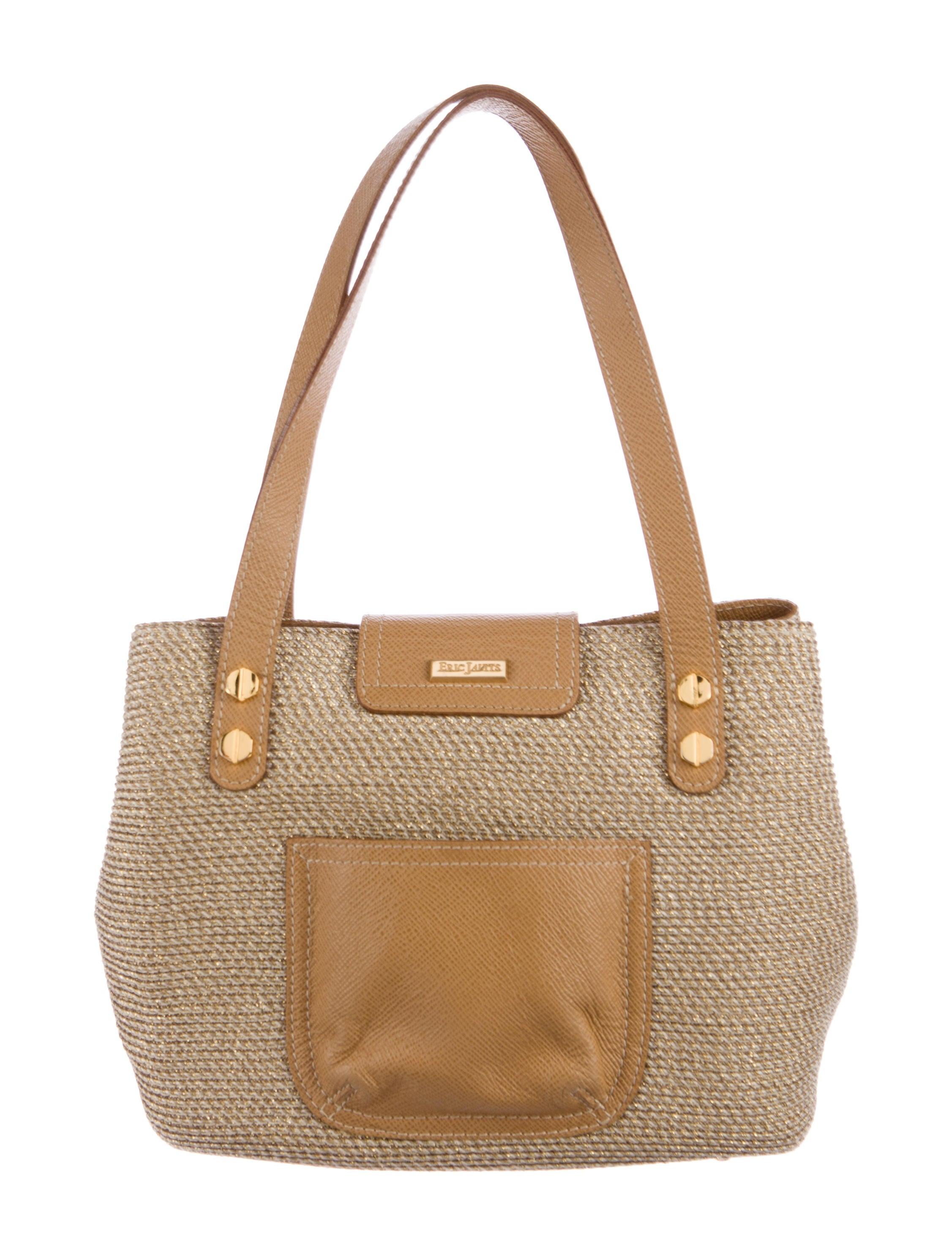Eric Javits Metallic Straw Bag Handbags Wej20102 The