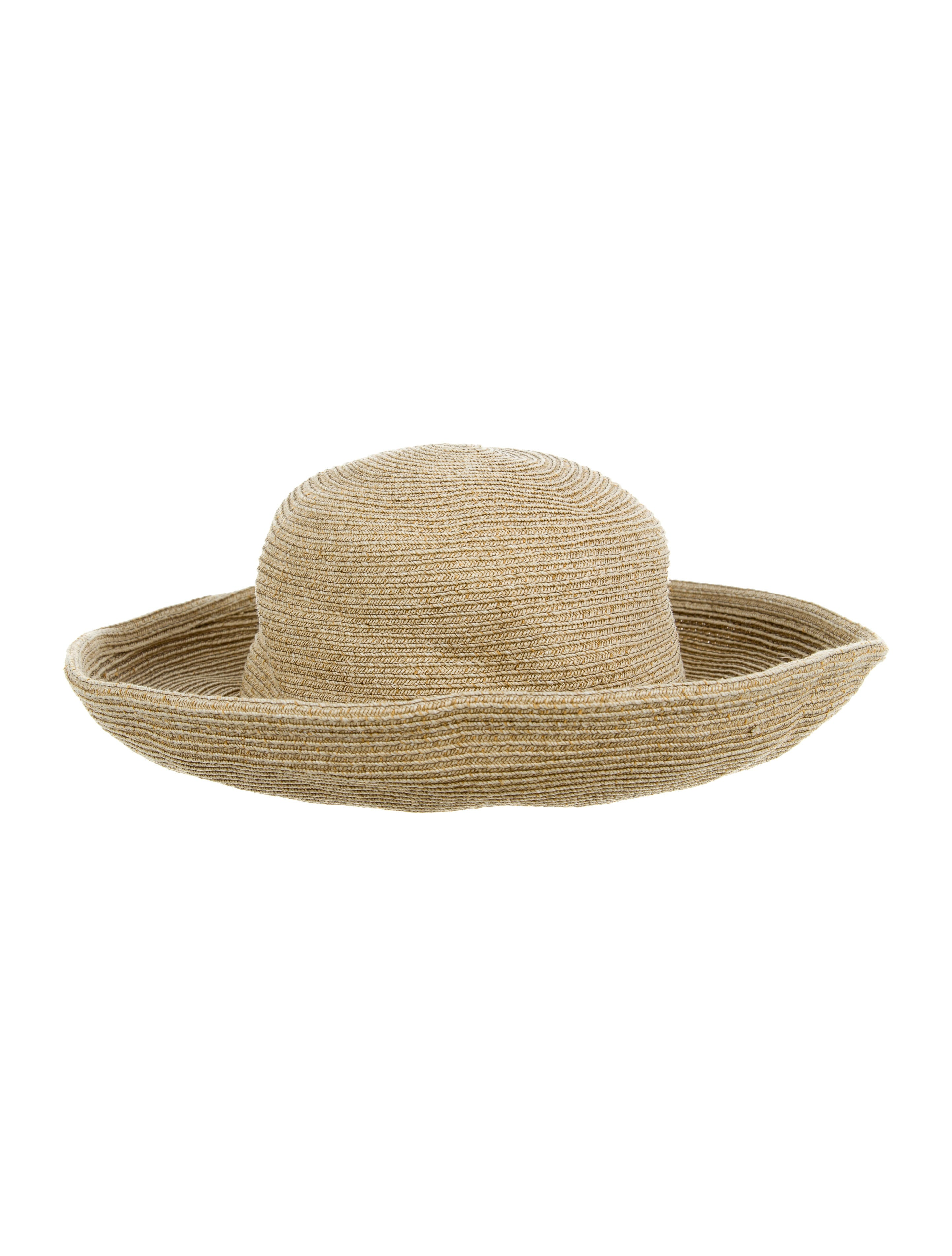 e9af31ea2cb Eric Javits Woven Wide Brim Hat - Accessories - WEJ20112