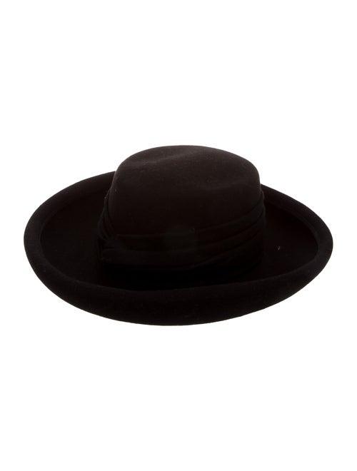 Eric Javits Wide Brim Hat Black - image 1