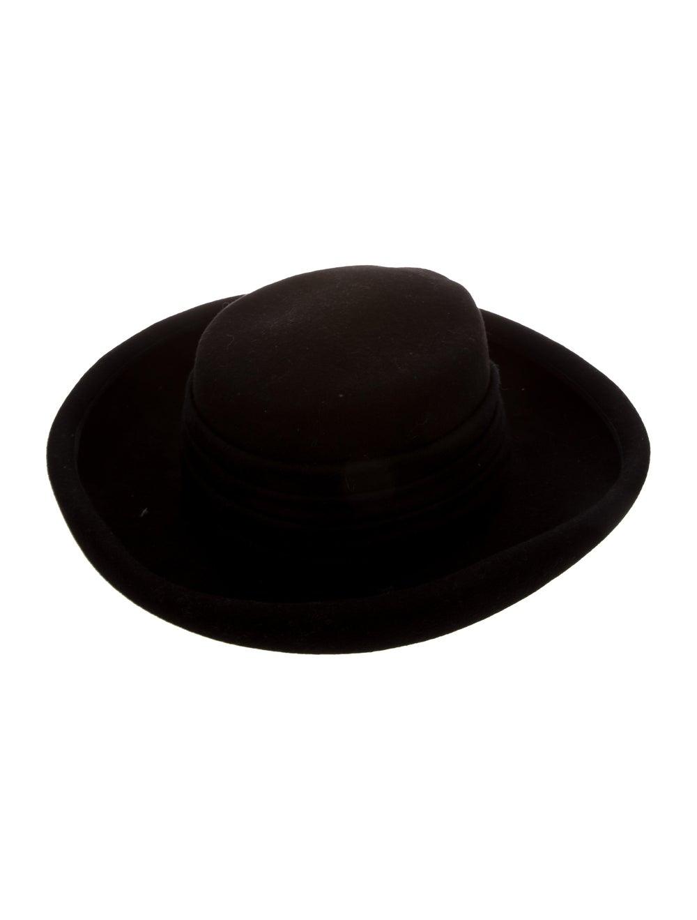 Eric Javits Wide Brim Hat Black - image 2