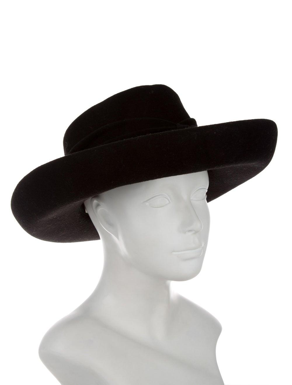 Eric Javits Wide Brim Hat Black - image 3