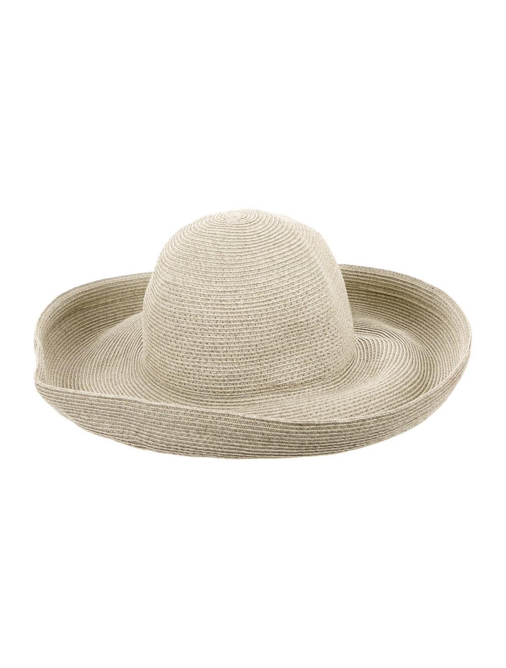 Eric Javits Wide-Brim Straw Hat green - image 2