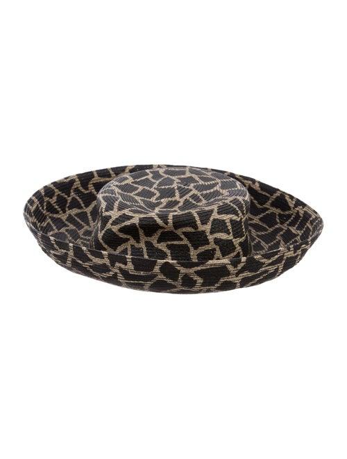 Eric Javits Wide-Brim Straw Hat Tan - image 1