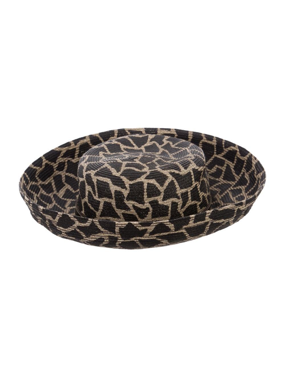 Eric Javits Wide-Brim Straw Hat Tan - image 2