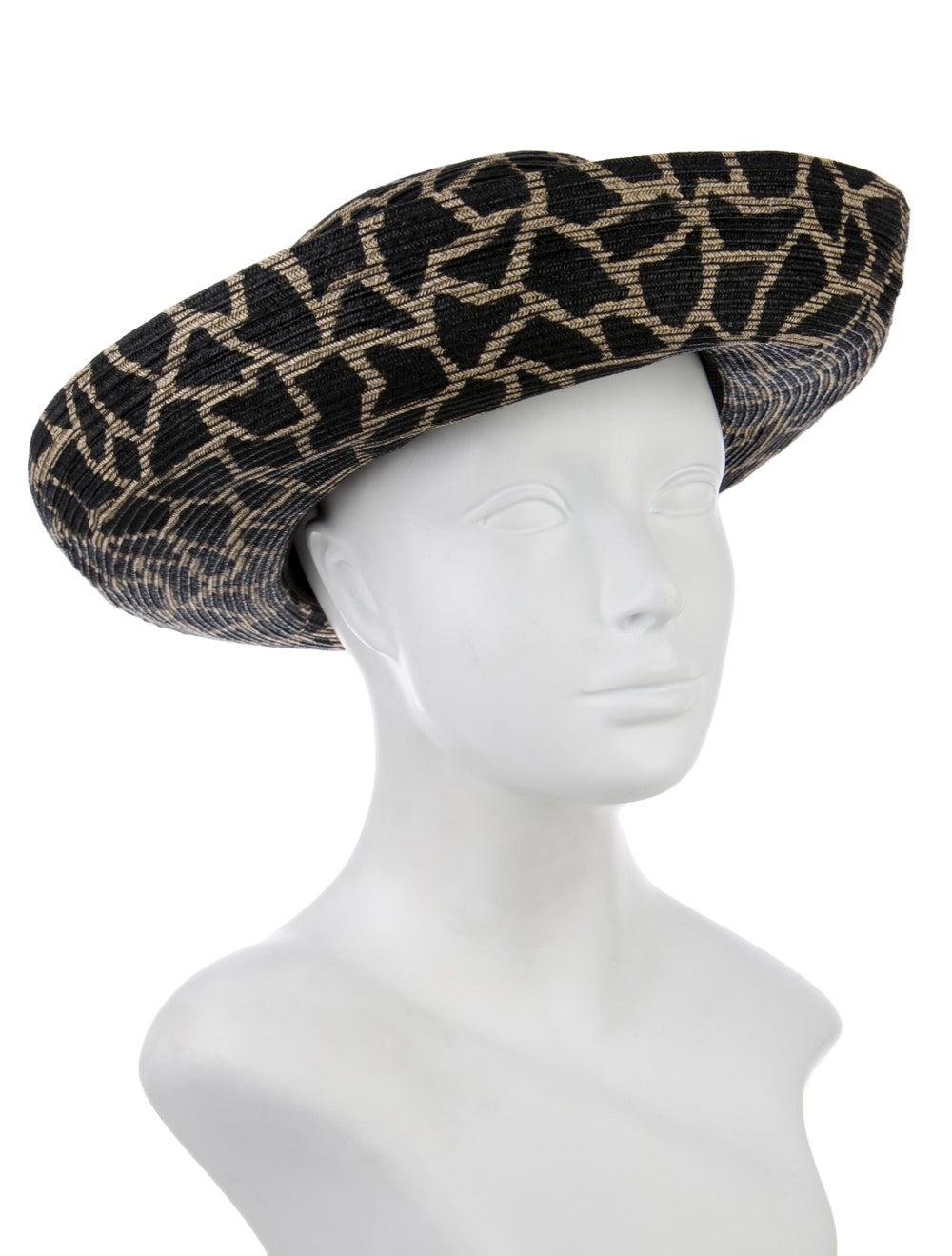 Eric Javits Wide-Brim Straw Hat Tan - image 3