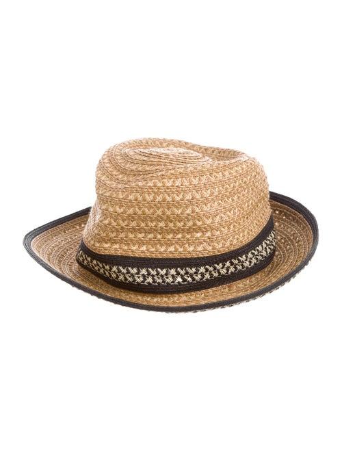 Eric Javits Raffia Sun Hat Tan