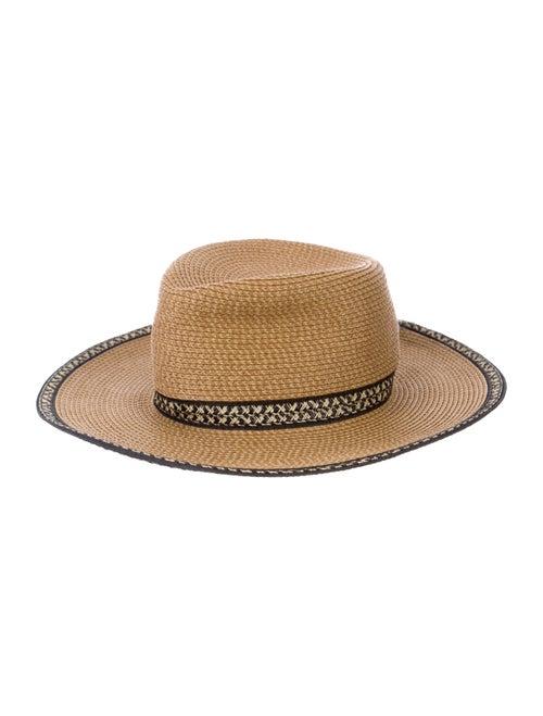 Eric Javits Raffia Woven Hat Tan